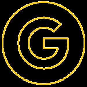 google logo yellow and transparent